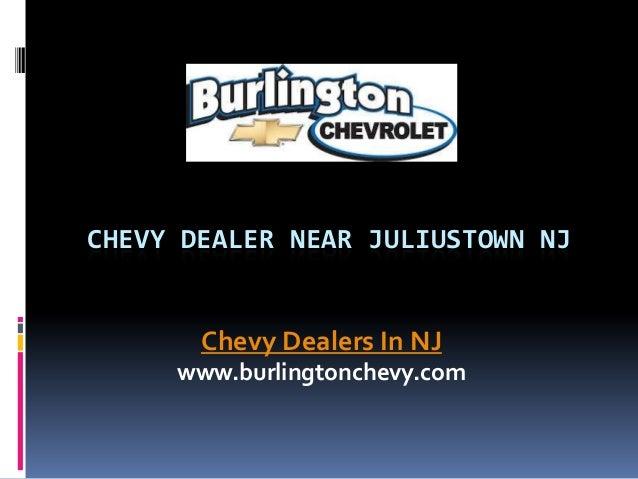 Chevy Dealer near Juliustown NJ