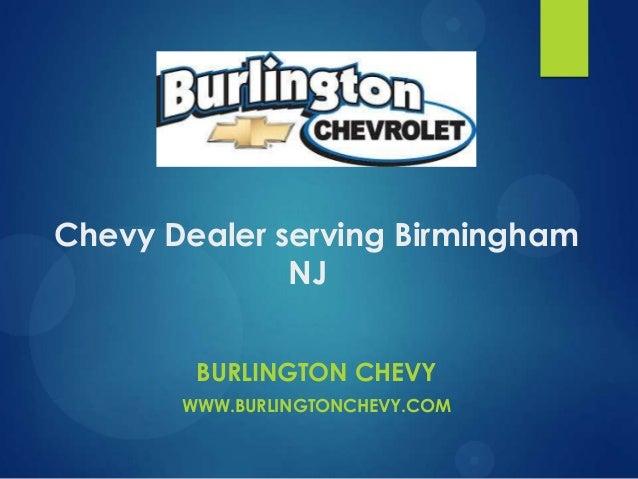 Chevy Dealer serving Birmingham NJ