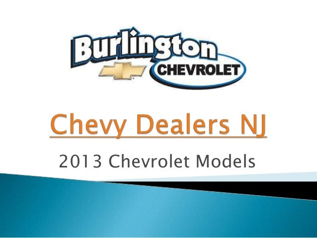 Chevy Dealers NJ