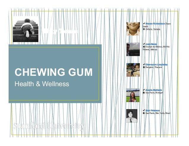 CHEWING GUMHealth & WellnessTiny Team