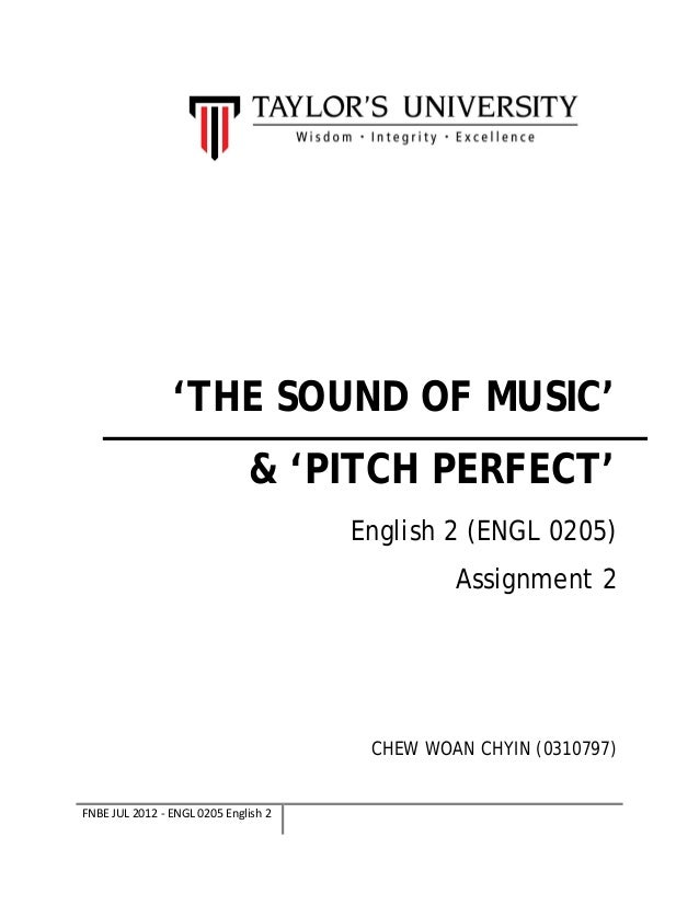 English essays about music