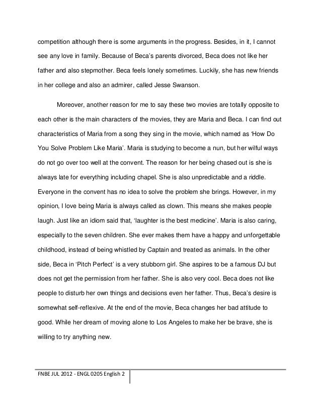 modern essay