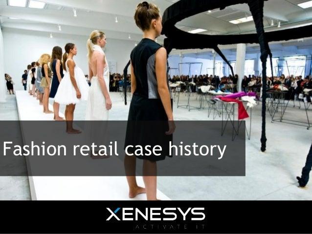 Case history - Fashion Retail Showcase