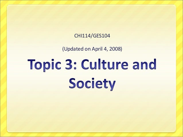 CHI114/GES104 (Updated on April 4, 2008)