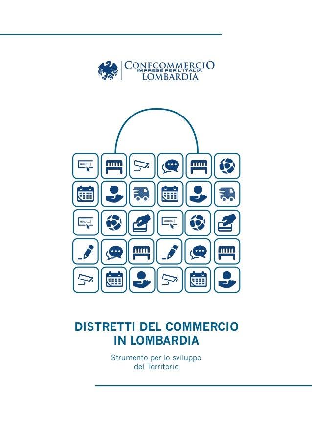 Distretti del commercio in Lombardia
