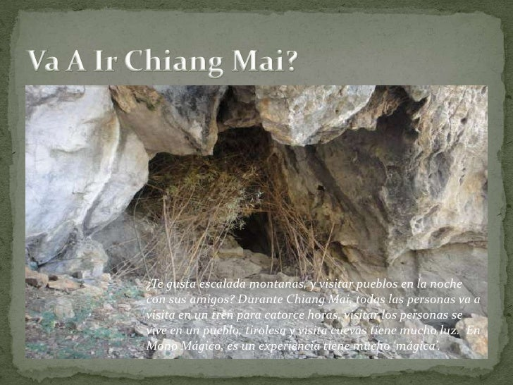 Va A Ir Chiang Mai?<br />