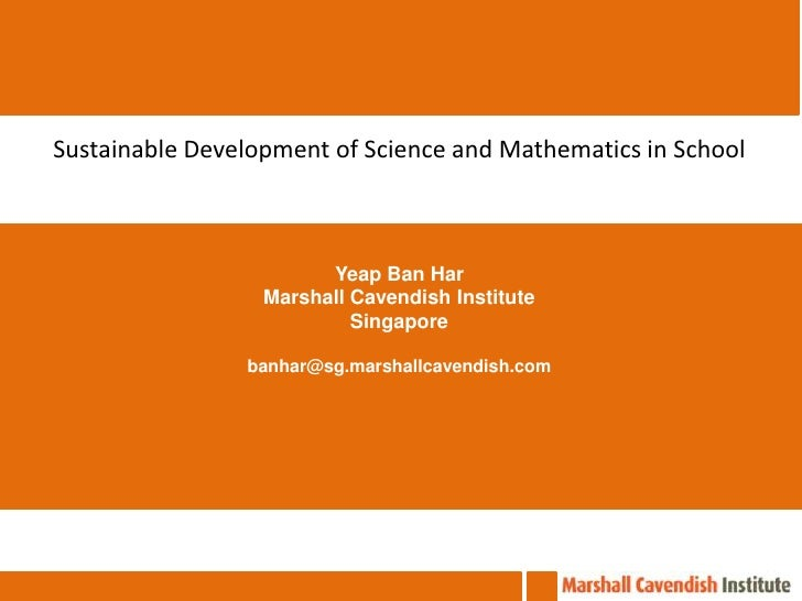 20th National Conference on School Science & Mathematics