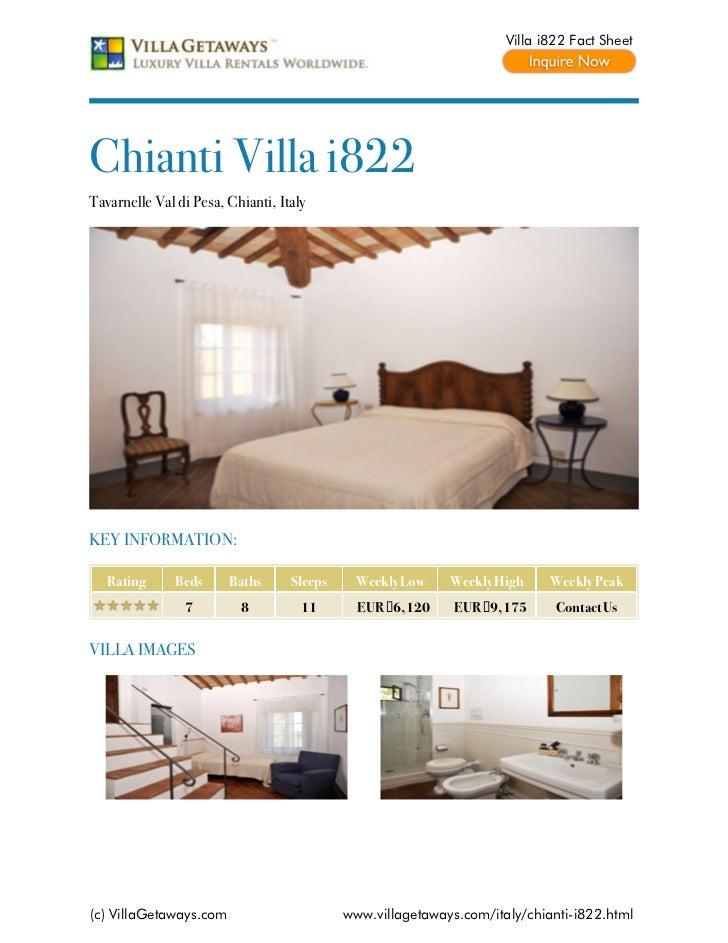 Chianti villa i822,italy