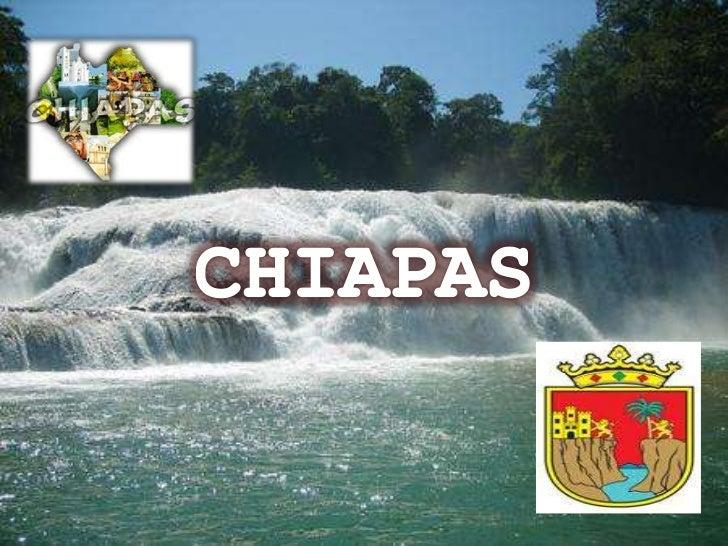 • Comparte frontera al este con la República de  Guatemala y es el 8avo estado más grande en  superficie de la República M...
