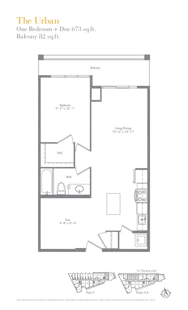 NSizes and specifications are subject to change without notice. All floorplans are approximate dimensions. Actual useable flo...