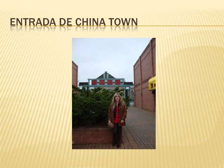 Entrada de china town<br />