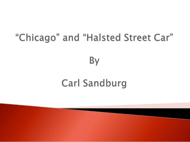 Chicago carl sandburg