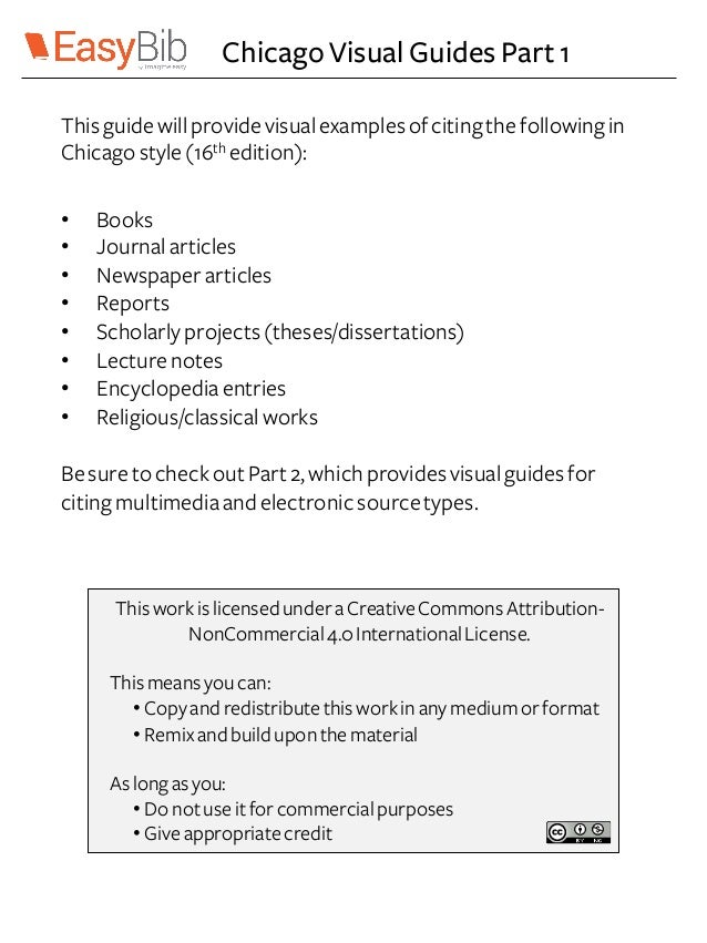 chicago dissertation bibliography The following examples illustrate the notes and bibliography system  see chapter 14 of the chicago manual of style  thesis or dissertation.
