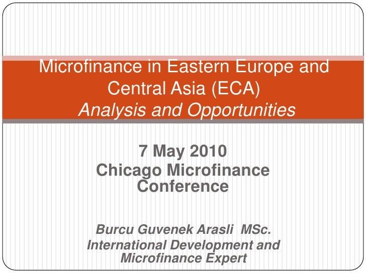 Chicago Microfinance Conference 2010 Bga Presentation