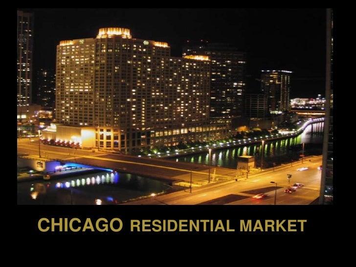 CHICAGO RESIDENTIAL MARKET           MARKET