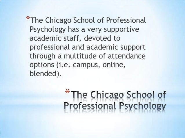 Has anyone graduated from The Chicago School of Professional Psychology ?