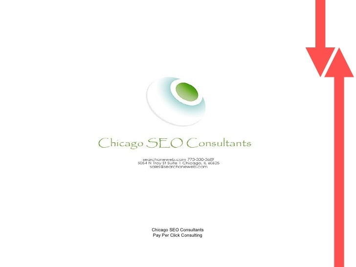 Integrated  Search Engine Marketing Proposal  Chicago SEO Consultants  Pay Per Click Consulting