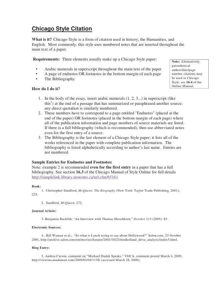 Sample essay with footnotes