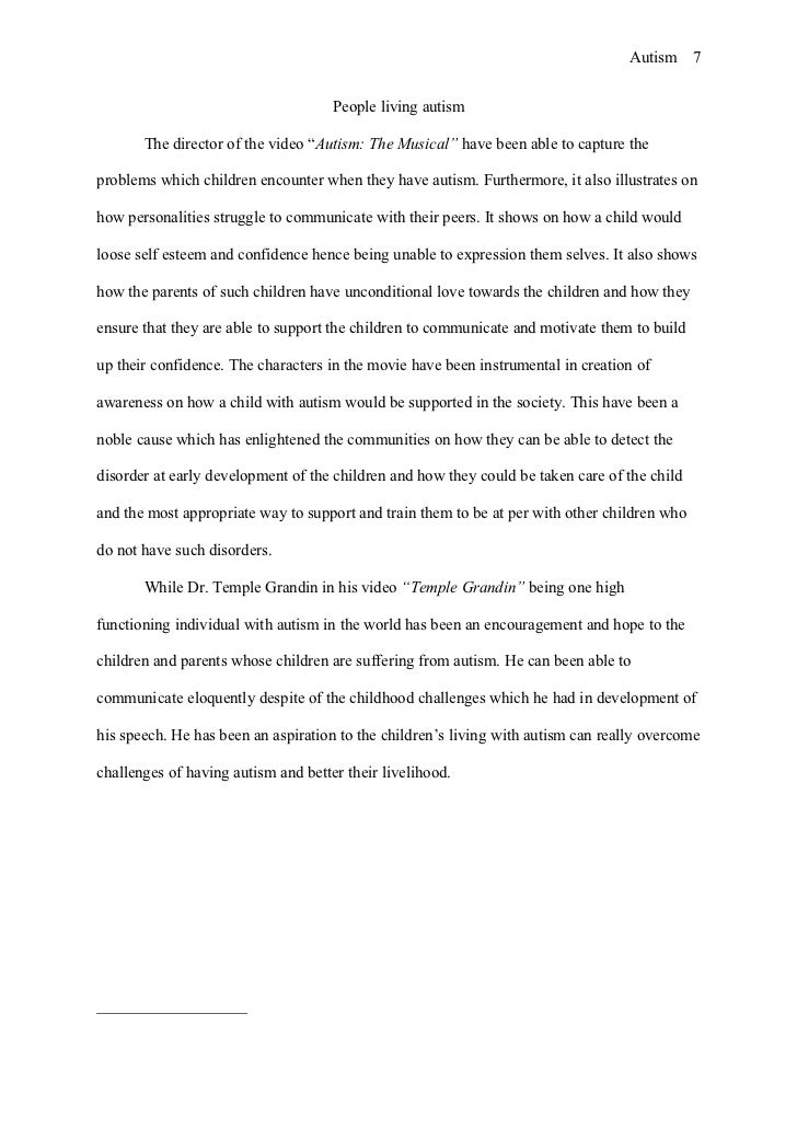 essay about autism essay on autism essay on autism