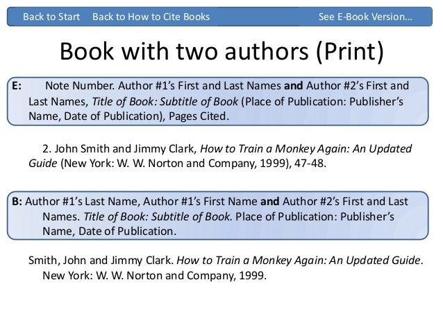 Citing 2 authors apa