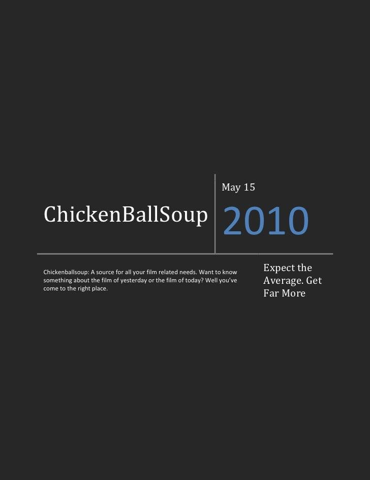 ChickenBallSoup issue 3