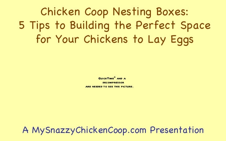 how to make hen laying in other nesting box