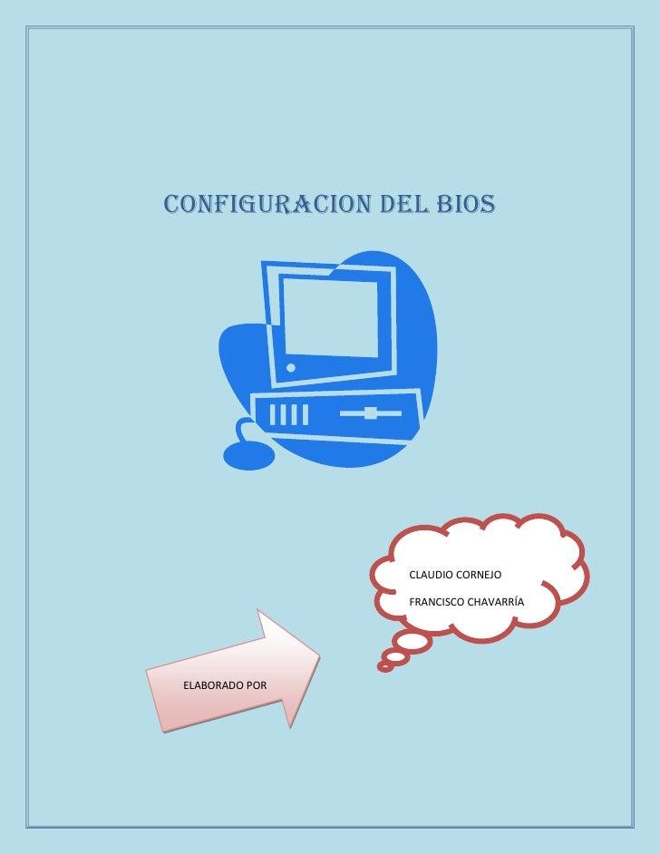 Configuracion del Bios