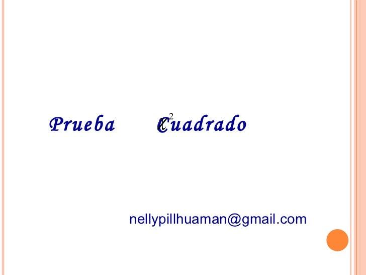 Prueba   Cuadrado   [email_address]
