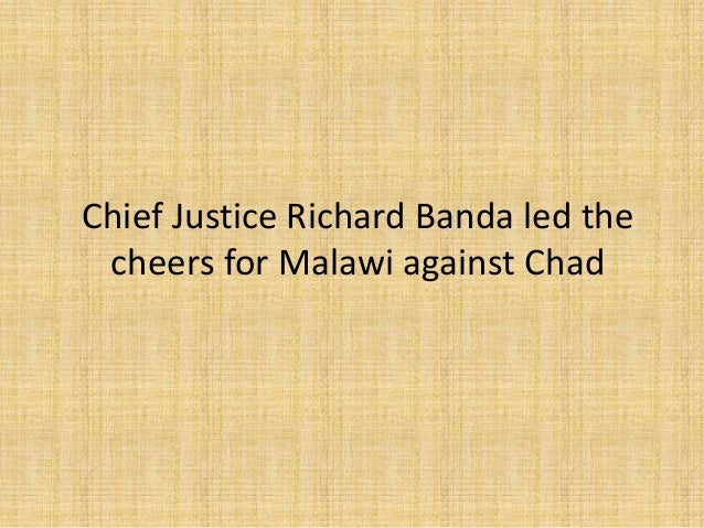 Chief justice-richard-banda-led-the-cheers-for-malawi-against-chad