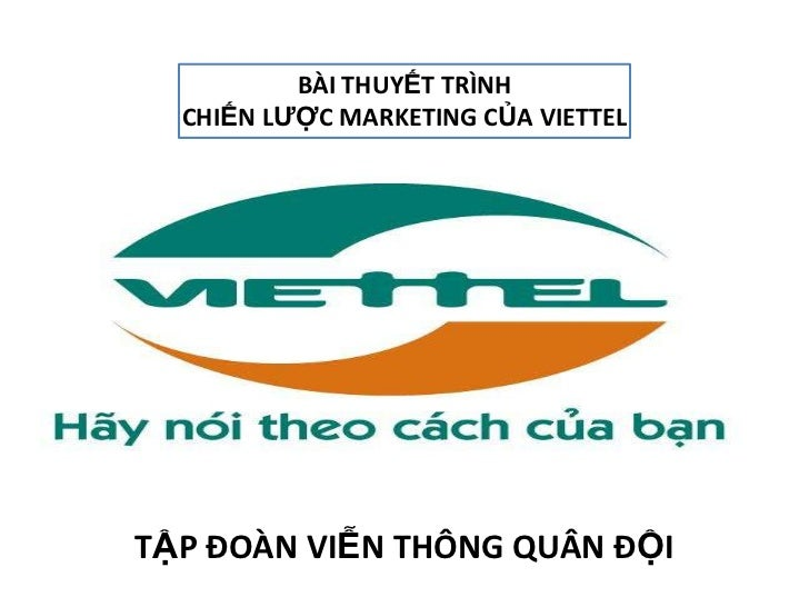 Chien luoc marketing viettel