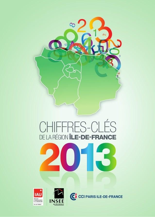 Chiffres-clés 2013 de la région Île-de-France