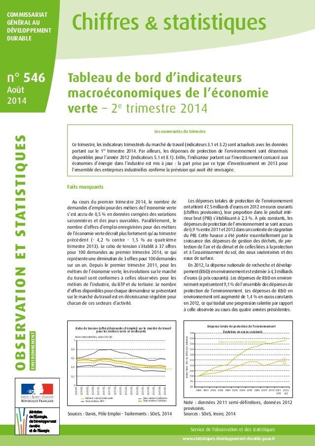 www.statistiques.developpement-durable.gouv.fr COMMISSARIAT GÉNÉRAL AU DÉVELOPPEMENT DURABLE observationetstatistiques ENV...
