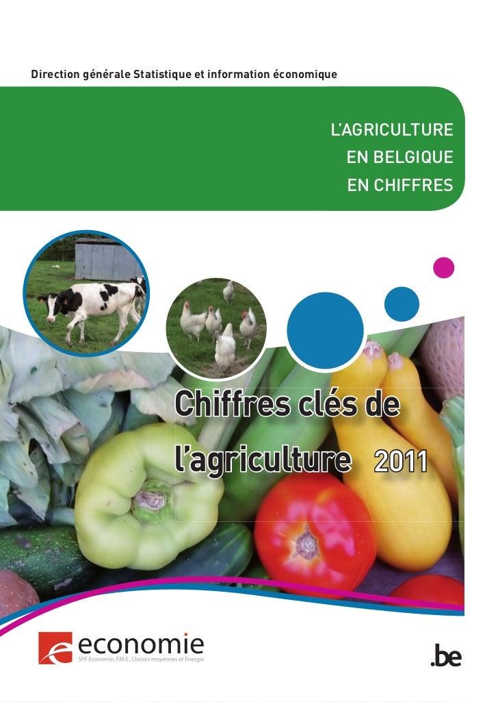 Chiffres clés de l'agriculture en Belgique - 2011