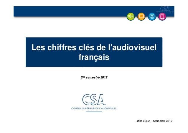 Chiffres+clés+de+l'audiovisuel 2012