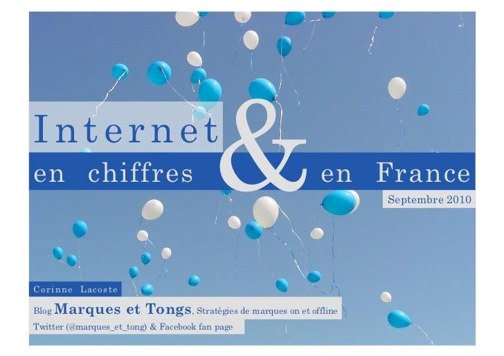 Marques et Tongs : Internet en Chiffres & en France - V2 - sept 2010