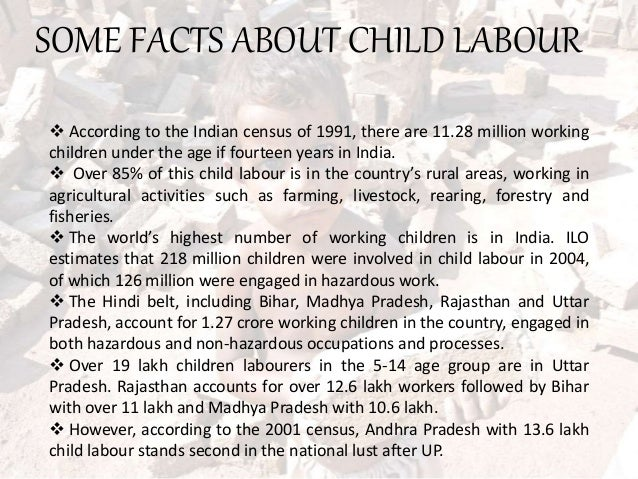 composition on child labour