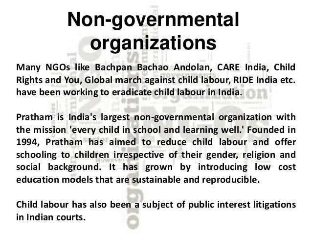 short essay about child labour Child labor is defined by article 32 of the convention on the rights of the child: as any economic exploitation or work that is likely to be hazardous or interferes with the child's education, or is harmful to the child's health or physical, mental, spiritual, moral, or social development.