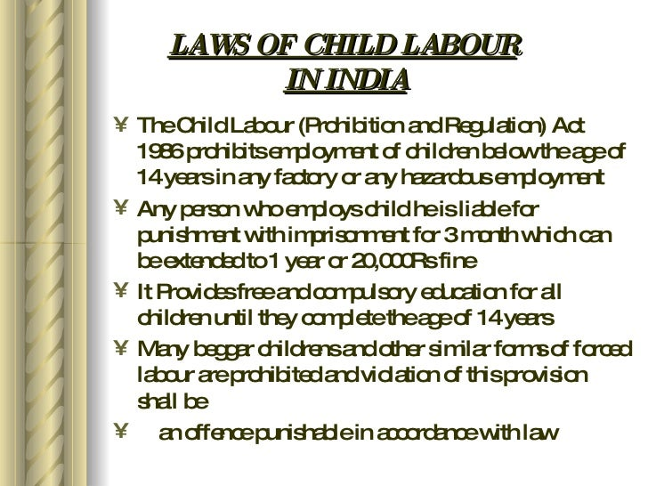 essays on child labor laws Essays from bookrags provide great ideas for child labor essays and paper topics like essay view this student essay about child labor.