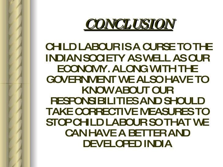 Conclusion of child labour essay