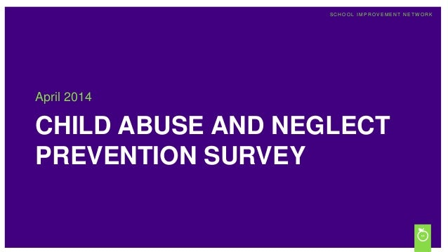 Child Abuse and Neglect Survey Results