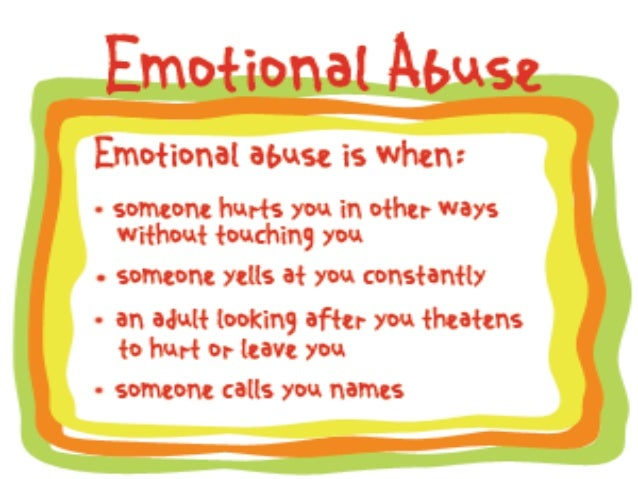 How to Prevent Emotional Abuse