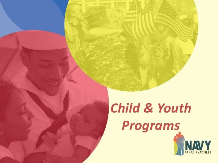Child and youth programs ppt brief