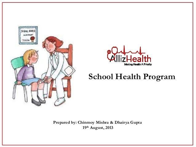 Re-defining School Health Program in India by AllizHealth