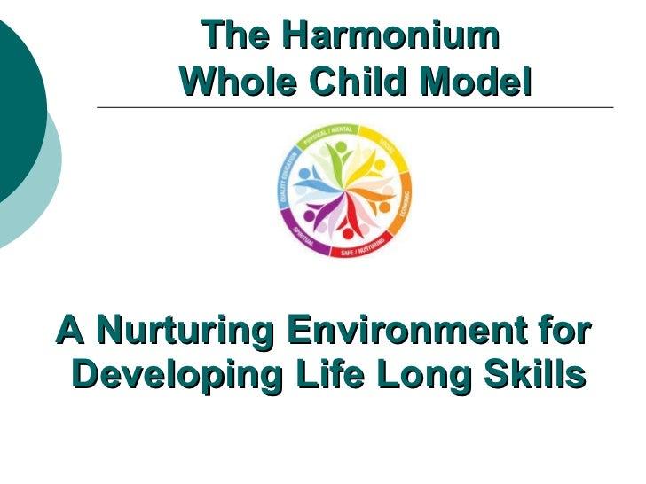 Harmonium's Whole Child model for Childcare