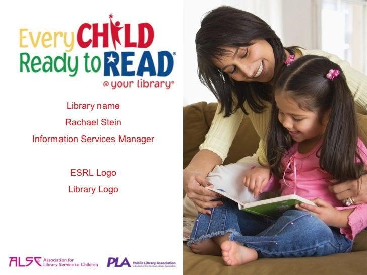 Library name       Rachael SteinInformation Services Manager        ESRL Logo        Library Logo