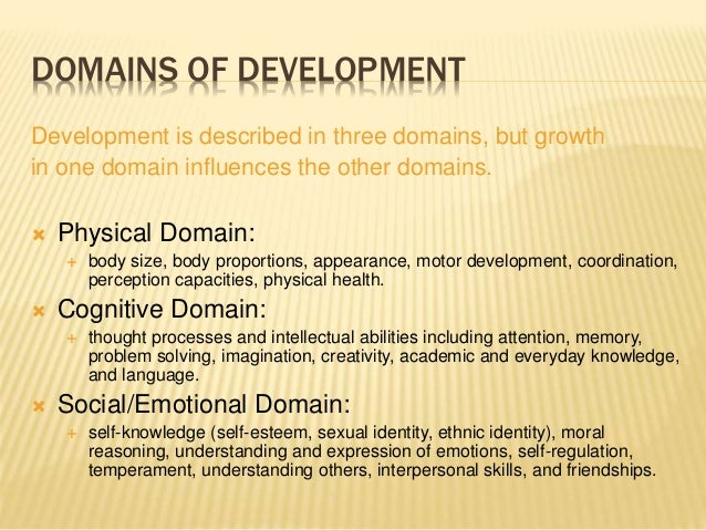 3 domains of development The three domain system is a system for classifying biological organisms in this system, organisms are classified into three domains and six kingdoms.