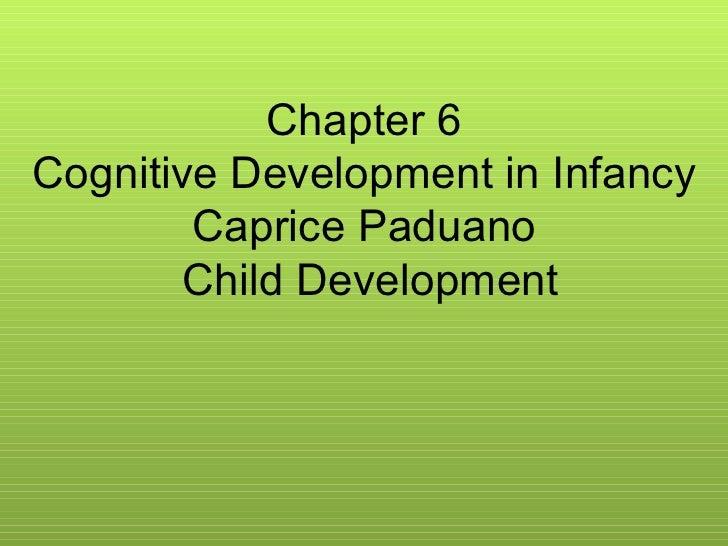 Child development, chapter 6, Caprice Paduano