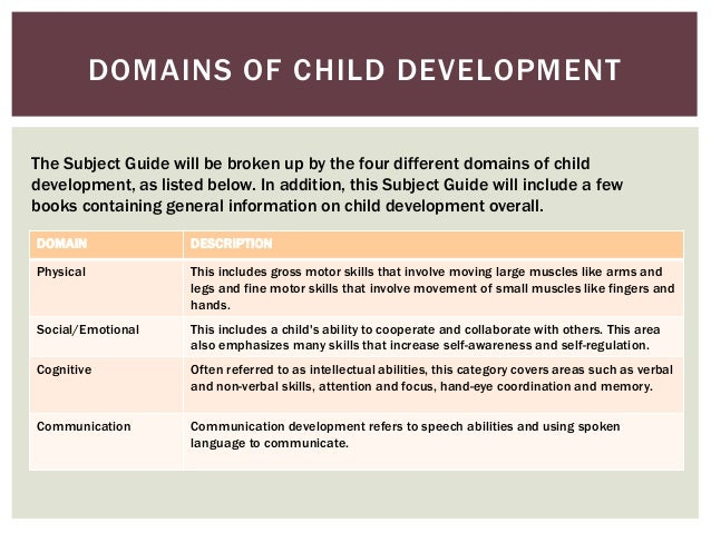 domains of human development pdf