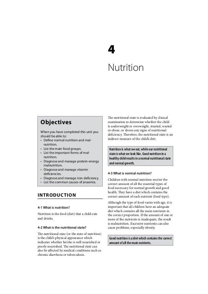 Child Healthcare: Nutrition
