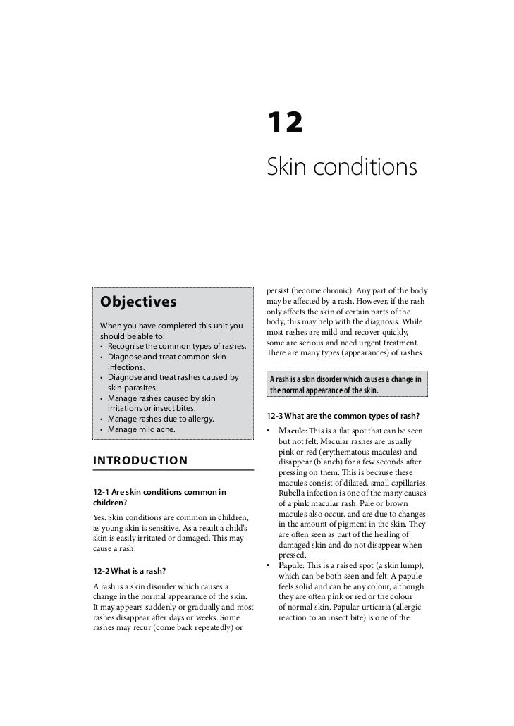12                                                    Skin conditions                                                    p...